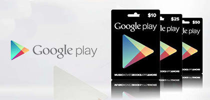 Google Play Card